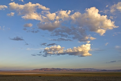 Distant Nevada Mtns